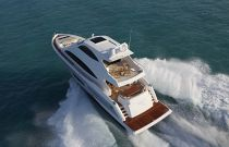 Viking Yachts 75 Motor Yacht Port Side Running Shot