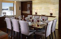 Princess 40M Dining Room Detail