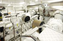 Princess Yachts 40 Meter Engine Room