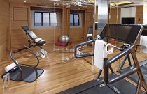 Princess Yachts 40M Gym