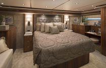 Viking Yachts 80C Master Stateroom Headboard