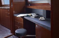 Princess Yachts 131 Foot Yacht Vanity Detail