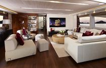 Princess Yachts 40 Meter Salon TV