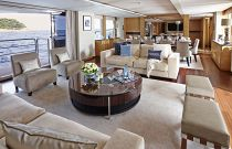 Princess Yachts 40M Salon Amenities