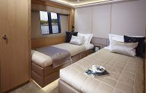 Princess 40M Aft Facing Bunk Stateroom