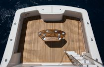 Viking Yachts 37 Billfish Cockpit and Rocket Launcher