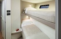 Princess Yachts 30 meter Crews Quarters
