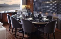 Princess Yachts 30M Dining Room