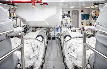 Princess Yachts 30 meter Engine Room
