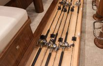 Viking Yachts 72C Rod Storage