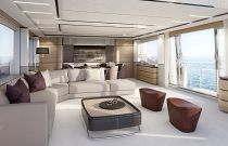 PRINCESS 30M Salon Terrace