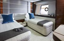 Princess Yachts 30M Convertible Berth Cabin