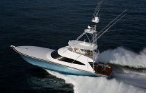 Viking Yachts 72C Port Side Running Shot