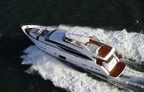 Princess Yachts 88MY Aerial Image