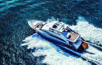 Princess Yachts Y88 Overhead Image