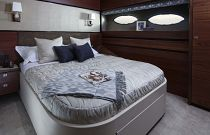 Princess Yachts 88 Motor Yacht Full Queen Berth Cabin