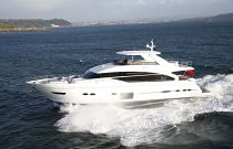 Princess Yachts 88MY Running White Hull