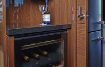 Princess Yachts 82 MY  Wine Room Center