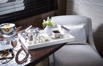 Princess Yachts 82 MY Cabin Tea Seating Area