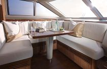 Princess Yachts 82 MY Forward Deck House Dining