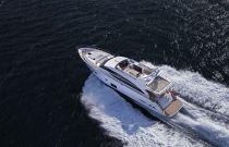 Princess Yachts 82 Motor Yacht Aerial Full Image