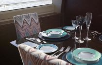 Princess Yachts 82 Place Setting Dining