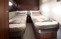 Princess Yachts 82 MY Bunk Berths