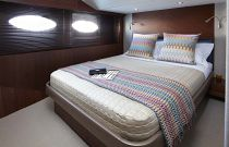 Princess Yachts 82 MY Guest Room Full queen