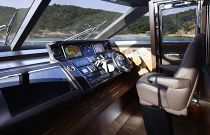 Princess Yachts 82 MY Helm electronics