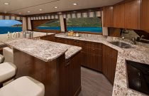 Viking Yachts 72 Convertible Galley