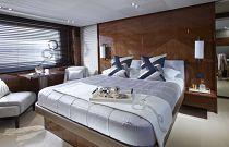 Princess Yachts 82 MY VIP Cabin