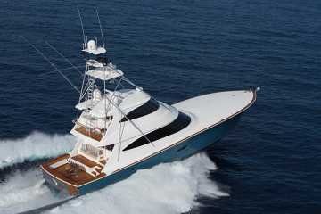 Viking Yachts 80 Enclosed Bridge